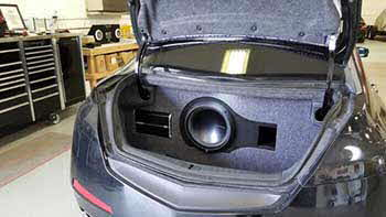 Sound Warehouse AsiaEuro Import Installations - 2005 acura tl speaker size