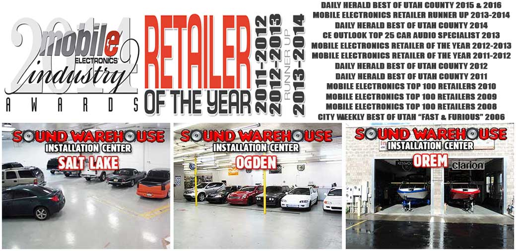 Sound Warehouse - Retailer of the Year!