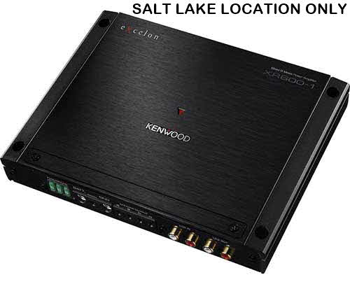 1 Channel Power Amplifiers by Kenwood, Rockford-Fosgate and